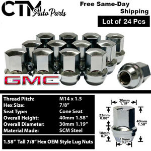 24 Ford Oem Factory Style 14x1 5 Lug Nuts Fit F150 Expedition 2015 2019