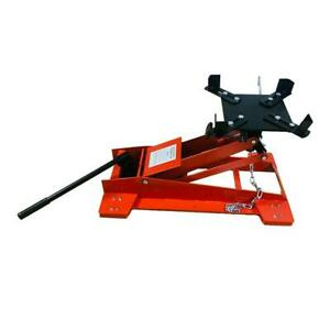 New 0 5 Ton Low Profile Transmission Hydraulic Jack Auto Shop Repair Low Lift