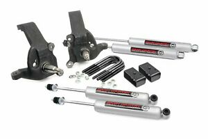 Rough Country 3 Lift Kit Fits 1997 2003 F150 2wd Includes N3 Shocks