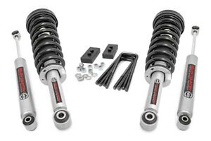 Rough Country 2 Leveling Lift Kit Fits 2009 2013 F150 4wd N3 Struts N3