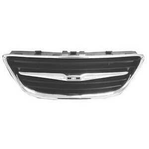 Sb1200102 New Center Grille Fits 2003 2007 Saab 9 3
