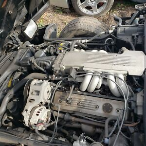 1987 Corvette C4 L98 Engine With Ecm And Wiring 35k Low Miles