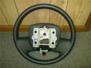 06 11 Ford Crown Victoria Oem Charcoal Black Steering Wheel W o Cruise