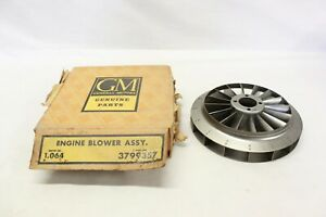 Nos 1961 1962 1963 Chevrolet Corvair Engine Steel Blower Assembly Oem Gm 3799357