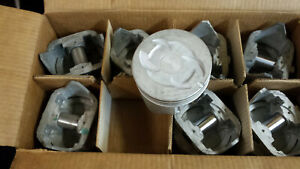 302 Ford Pistons 040 Over 1968 Thru 1972 Set Of 8