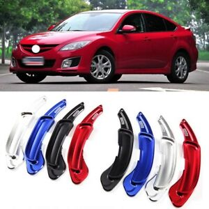 Steering Wheel Shift Paddle Extension Paddle Shifters Cover For Mazda Speed 2009