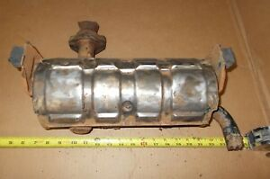 Honda 600 Coupe Used Muffler Exhaust Pipe Core Engine Z600 Needs Repair Project