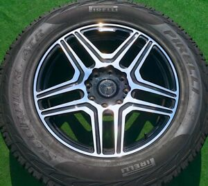 Factory Mercedes Benz G550 4x4 Wheels Tires Squared 22 Genuine Amg Oem Set Of 4
