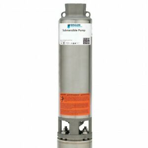Goulds 25gs10412cl 25gpm 1hp 230v 3 Wire 4 Stainless Steel Submersible