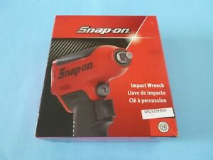 New Snap on 3 8 Drive Black Air Impact Wrench Mg325fbm Boot