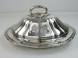 Outstanding Paul Storr Silver Tureen London 1837 Armorial Entree Dish 1710g