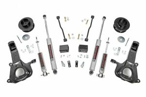 Rough Country 4 Lift Kit Fits 2009 2018 Ram Truck 1500 2wd Includes N3 Shocks