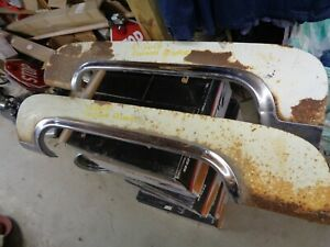 1955 Cadillac Fender Skirts W trim Pair Fleetwood 60 Series For Restoration