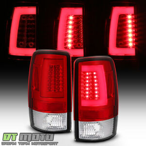 2000 2006 Chevy Suburban Tahoe Gmc Yukon Led Light Bar Tail Lamps Brake 00 06