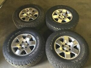 07az 2008 Toyota Fj Cruiser Oem Wheels 17 Inch Rims W General Grabber At2 Tires