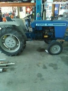 1980 Ford Tractor W Wood Chipper Included 6 300