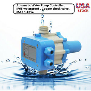 Automatic Electronic Switch Control Unit Water Pump Pressure Controller Ca