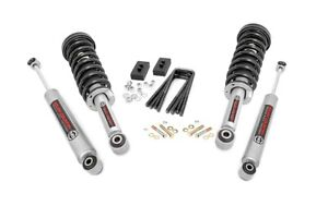 Rough Country 2 Leveling Kit fits 2014 2020 Ford F150 N3 Struts Shocks