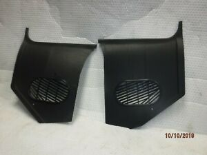 Nu Blem 64 66 A Body Kick Panels No A C Black Chevelle Cutlass Skylark Gto Gs Ss