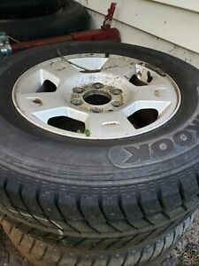 Spare Ford F 150 Oem Stock Rims With Studded 245 70r17 Snow Tires Be Ready 24 7