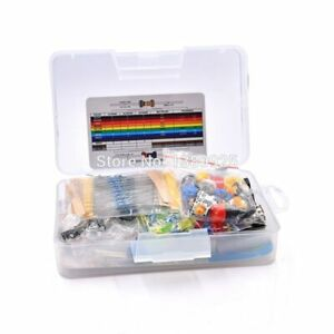 Electronic Electronics Protoboard Breadboard Kit Fans Cable Resistor Capacitor