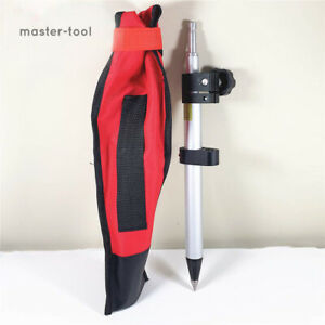 New Telescopic 60cm Mini Prism Pole precise Tip Stretch For Leica Total Stations