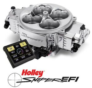 Holley Sniper Efi 550 841 Fuel Injection System Stealth 4500 Shiny 800 1500hp