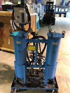 Used Dlb Systems Hydraulic Oil Filter Cart Filtration