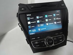 Car Dvd Gps Stereo Radio Nav For Hyundai Santa Fe 2013 2017