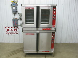 Blodgett Double Stack Deck Electric Full Size Convection Oven Mark v 111