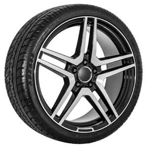 Mercedes Benz Replica Black Wheels Rims Tire Package414253