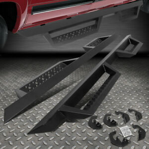 For 07 19 Silverado Sierra Extended Cab 4 5 Side Step Running Board Nerf Bar
