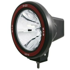 Anzo Hid Off Road Light Universal 7in Hid Off Road Fog Lamp W Anzousa Red Bezel