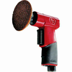 Chicago Pneumatic Cp7202 Mini Pistol Grip Disc Sander With 3 Roloc Pad