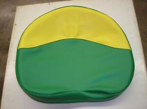 John Deere oliver Tractor new green Yellow Vinyl Pan Seat Cover 19 32 2