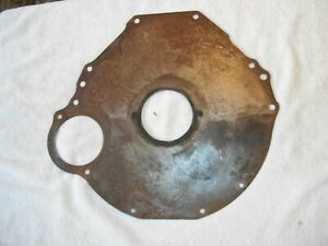 Ford 289 260 5 Bolt Engine Block Plate Manual Transmission Mustang Falcon