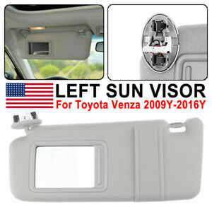 Driver Sun Visor For Toyota 2009 2016 2010 11 Venza With Sunroof 74320 0t022 B1