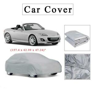 Foldable Wind Dustable Resistant Waterproof Cover Outdoor Full Car Cover S Xxl