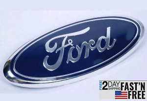 Ford Truck F 150 F 250 F 350 F 450 Oval Emblem Badge Grill Front Or Rear 9 Inch