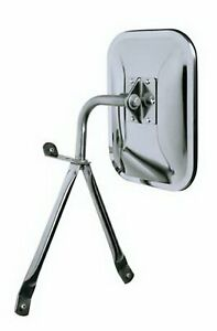 Universal Side Mirror Replacement Full Size Low Mount Van Pickup Truck Chrome