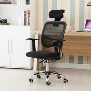 Home Office Ergonomic High Back Mesh Chair Reclining Swivel Computer Desk Chai