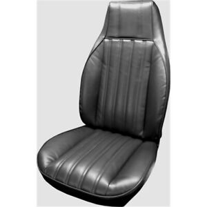 Parts Unlimited 82fs70u Bucket Seat Upholstery 82 85 Camaro Black Pair