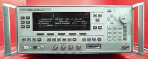 Agilent 83623b 3844a01295 Synthesized Signal Generator 10mhz 20ghz Opt 001 2 6 8