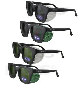 Titus Retro Style Safety Welding Glasses Goggles Side Shields Z87 Ansi Ir 3 5