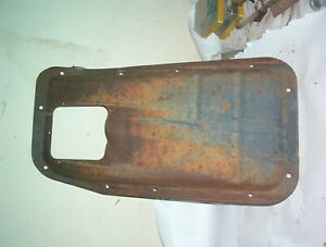1967 1972 Ford Pickup Truck Transmission Hole Cover W Floor Shift