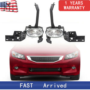 Right Left Side Front Bumper Fog Light Lamp Fit For Honda Accord 2008 2009 2010