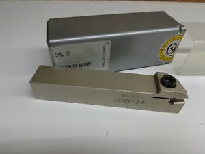 Iscar Ghml 19 Indexable Grooving Lathe Tool Holder Stk077