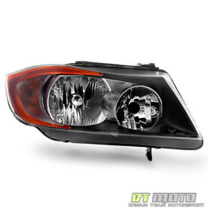 2006 2008 Bmw E90 325i 328i 330i Sedan Halogen Headlight Headlamp Passenger Side