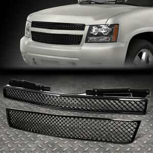 Sport Mesh Front Upper Bumper Abs Grill grille frame 07 12 Chevy Tahoe suburban
