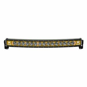 Rigid Industries Radiance Plus Curved 30 Led Light Bar White Amber 33004